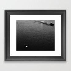 On the Rhein Framed Art Print