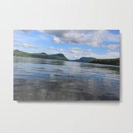 Willoughby Wavy Ride Metal Print