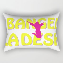 I BANGED LADESH Rectangular Pillow