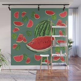 Watermelon Delight Wall Mural
