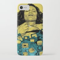 in the flesh iPhone & iPod Cases featuring New Flesh by Maritsa Patrinos