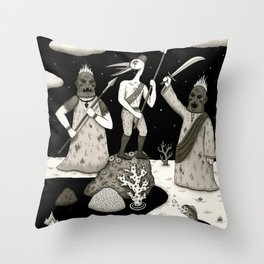 Capture the Flag Throw Pillow