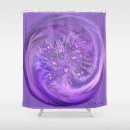 Restrained excitement  Shower Curtain