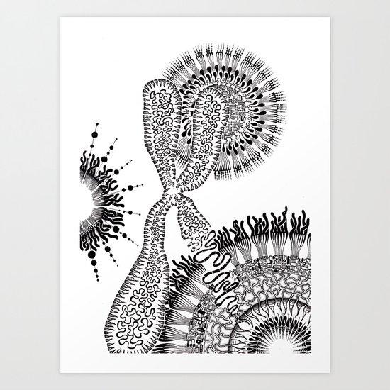 Chromosome Art Print