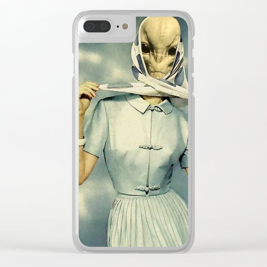 NUMBER 35 Clear iPhone Case