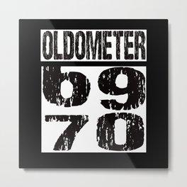 70th Birthday Metal Print