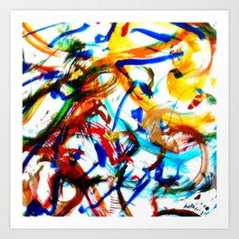 PLEYEL:  Clarinet Concerto No 1.    by Kay Lipton Art Print