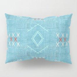 Casablanca Aqua Kilim Pillow Sham