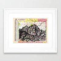 colorado Framed Art Prints featuring Colorado by Ursula Rodgers