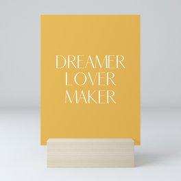 Deamer - Lover - Maker Mini Art Print