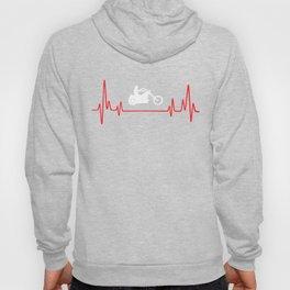 Biker Heartbeat Hoody