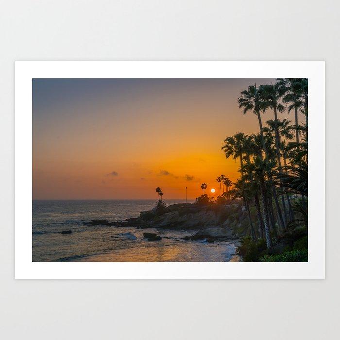 Tropical Sunset Kunstdrucke
