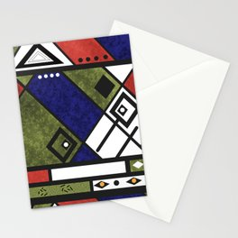 Abstract grunge 1 Stationery Cards