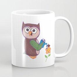 Cartoon Owl Coffee Mug