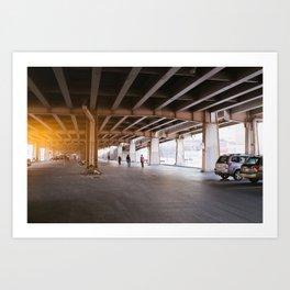 Williamsburg I Art Print