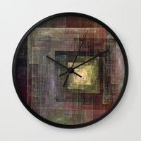 frames Wall Clocks featuring Frames by TilenHrovatic