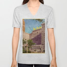 The Drake Chicago Unisex V-Neck
