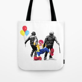 CLOWN CONTROL Tote Bag