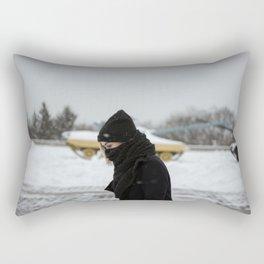 Winter in Kiev Rectangular Pillow