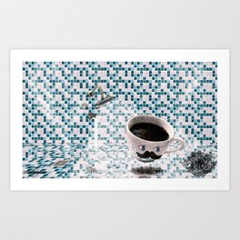 Cold Shower Tuesdays Art Print