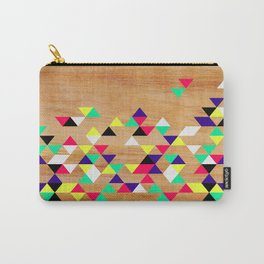 Geometric Polygons Arbutus Carry-All Pouch