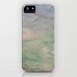 Informal texture two iPhone Case