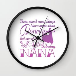 Dancing Nana Wall Clock