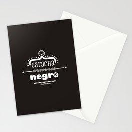Caracha Negro Stationery Cards
