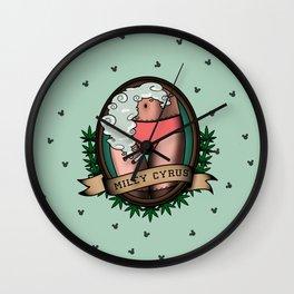 Miley Cyrus Wall Clock