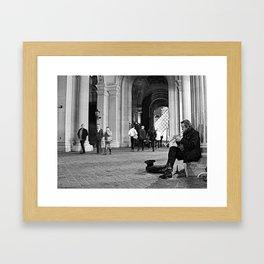 #ParisPostcards || The lightest sound Framed Art Print