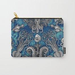 The Kraken (Blue) Carry-All Pouch