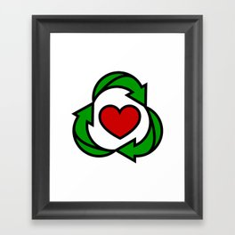 U cAN EvEn RecIcLe ThIs Framed Art Print