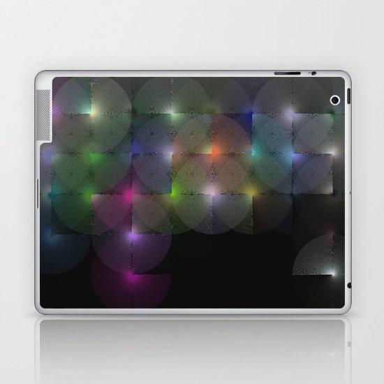 Written Circles #1 society6 custom generation Laptop & iPad Skin