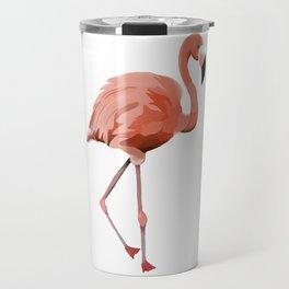 Pink Flamingo - Flamenco - 57 Montgomery Ave Travel Mug