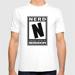 Rated N for Nerd T-shirt