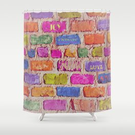 Fruits Of The Spirit Shower Curtain