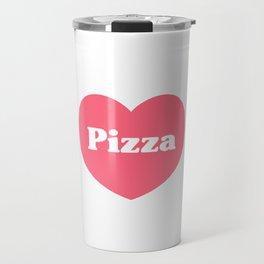 Heart Pizza Travel Mug