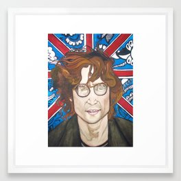 Lennon and India Framed Art Print