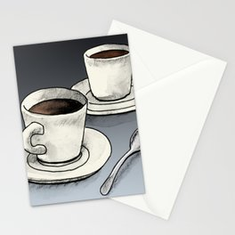 Diner Coffee Stationery Cards