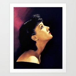 Jean Parker, Vintage Actress Art Print