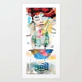 LA MACHINE #2 Art Print