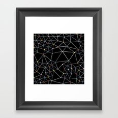 Seg with Color Spots Framed Art Print