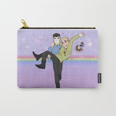 New Frontiers - Kirk and Spock Carry-All Pouch