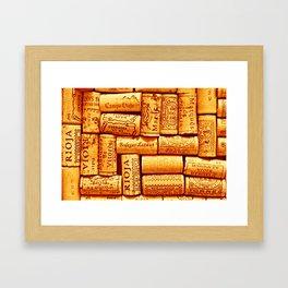 Every Which Way Rioja Framed Art Print