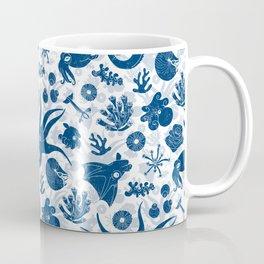 Cephalopods: Grunge Coffee Mug