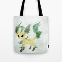 leaf Tote Bags featuring Leaf by Melissa Smith