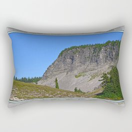 WEST END OF TABLE MOUNTAIN Rectangular Pillow