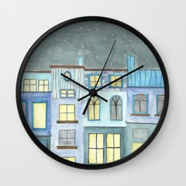 Starry Shoppes Wall Clock