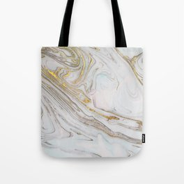 Gorgeous Gold and Marble Print Tote Bag