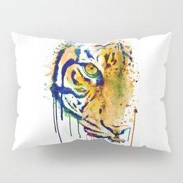 Half Faced Tiger Pillow Sham